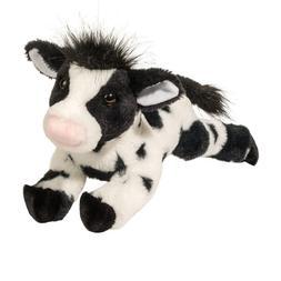 "Corinna Douglas 14"" tall dairy cow stuffed plush animal toy"