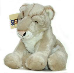 "Cougar Mountain Lion Plush Toy Stuffed Animal 12"" Jaag NEW"