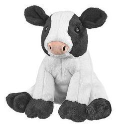 "Wildlife Artists Cow Farm Critters Plush Toy, 8"" Cow Stuffed"