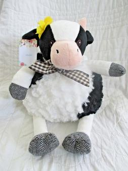 PIER1 COW STUFFED ANIMAL BRAND NEW WITH TAGS