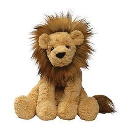 "GUND Cozys Collection Lion Stuffed Animal Plush, Tan, 10"""
