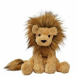 "Gund Cozys Collection Lion Stuffed Animal Plush Tan Color 8"""