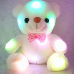 Creative Light Up LED Teddy Bear Stuffed Animals Plush Toys