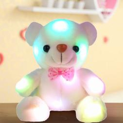 Creative Light Up LED Teddy Bear Stuffed Animals Plush Toys