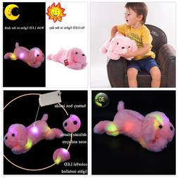 Wewill Creative Night Light LED Stuffed Animals Lovely Dog G