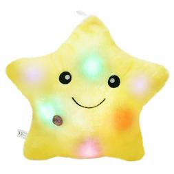 Wewill Creative Twinkle Star Glowing Led Night Light Plush P