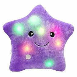 creative twinkle star glowing led night light