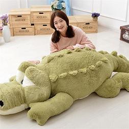 Crocodile Plush Stuffed Alligator Doll Animal Toy Soft Pillo