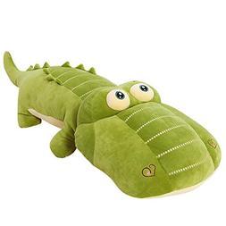 VSFNDB Crocodile Plush Toy 26 Inch Large Jumbo Alligator Stu