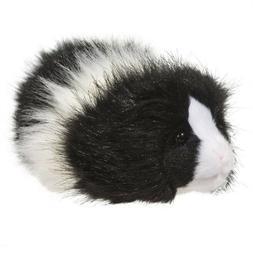 Douglas Cuddle Toys Angora the Black White Guinea Pig # 4112