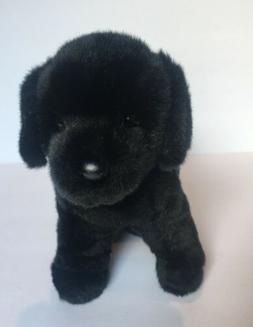 Douglas Cuddle Toys Bear the Black Lab Dog # 1726 Stuffed An