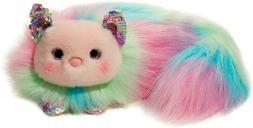 Douglas Cuddle Toys Prism Rainbow Cat Fuzzle #4226 Stuffed A