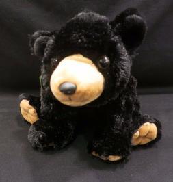 """Wild Republic Cuddlekins 12"""" BLACK BEAR Stuffed Soft Cuddly"""