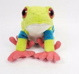 "Wild Republic Cuddlekins 12"" Red Eyed Tree Frog Stuffed Anim"