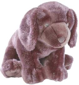 "Cuddlekins Black Labrador Retriever 12"" Plush"