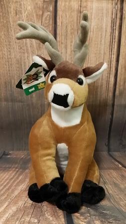 Wild Republic Cuddlekins Whitetail Deer Antler Plush Stuffie