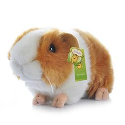 "Cuddly Big Soft Toys Emulation Yellow Guinea Pigs Doll 7"" So"