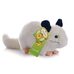 """Cuddly Big Soft Toys Emulation White Chinchilla Doll 12"""" Sof"""