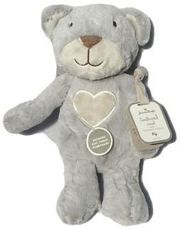 Hallmark Cuddly Comfort Heartbeat Teddy Bear Stuffed Animal