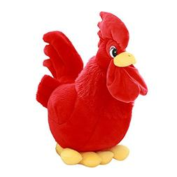 Cuddly Plush Soft Stuffed Animals Toy Red Rooster/Chicken Do