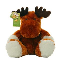 "Cuddly Reindeer Cute Elk Deer Doll 9"" Soft Baby Stuffed Anim"