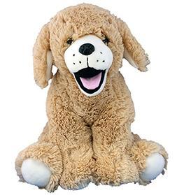 Cuddly Soft 16 inch Stuffed Golden Retriever Puppy - We stuf