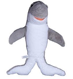 Cuddly Soft 16 inch Stuffed Grey Shark...We stuff 'em...you