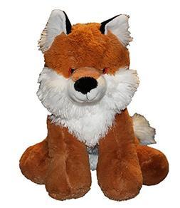 Cuddly Soft 16 inch Stuffed Red Fox - We stuff 'em...you lov