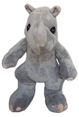 Cuddly Soft 16 inch Stuffed Rhino - We stuff 'em...you love