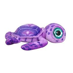 "Cuddly Soft Stuffed Toy 7 "" Emulation Purple Sea Turtle Doll"