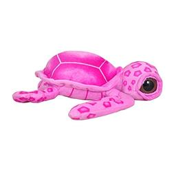 "Cuddly Soft Stuffed Toy 7 "" Emulation Pink Sea Turtle Doll T"
