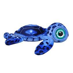 """Cuddly Soft Stuffed Toy 15.7 """" Emulation Blue Sea Turtle Dol"""