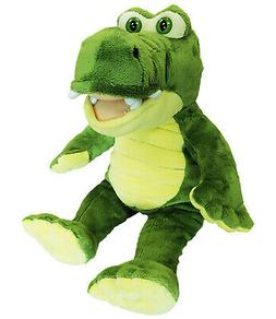 Cuddly Soft 16 inch Stuffed Yellow & Green Gator - We stuff