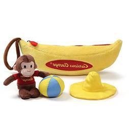 GUND Curious George Banana Sensory Skills Stuffed Animal Plu