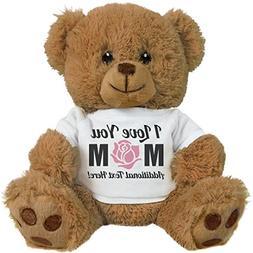 Custom I Love You Mom Gifts: 8 Inch Teddy Bear Stuffed Anima