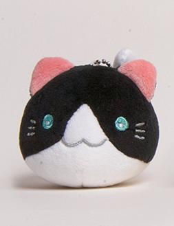 "2"" Cute Animal Kitty Cat Friends Mini Plush with Ball Chain"