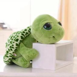 Cute Big Eyes Green Tortoise Turtle Sea Animal Stuffed Plush