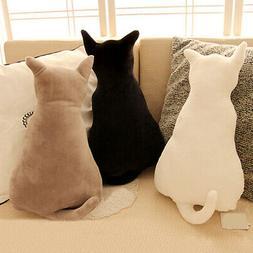 Cute Cats  Plush Soft Car Home Sofa Pillows Stuffed Animal C