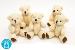 NEW Cute And Cuddly Little Teddy Bear X 5 - Gift Present Bir