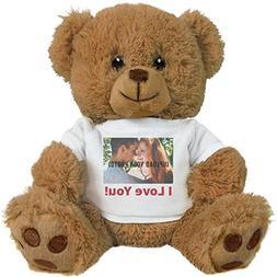 Cute Custom Photo Valentine's Bear Gift: 8 Inch Teddy Bear S