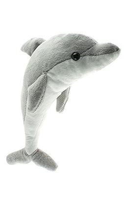 Cute Small Dolphin, 15 Inch Stuffed Animal, Kids Dolphin, Ad