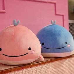 Cute Down cotton whale plush toy <font><b>super</b></font> <