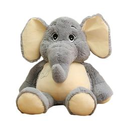 Cute Elephant Plush Stuffed Animals Cushion Toy Kids Bedtime