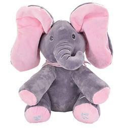 MLSH Cute Musical Baby Toys Animated Flappy Elephant Plush T