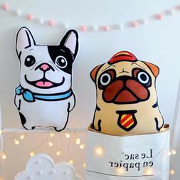 Cute <font><b>large</b></font> Cartoon Bulldog Belldog Plush