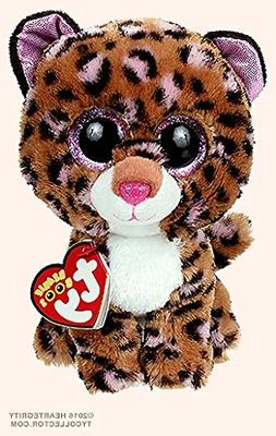 New TY Beanie Boos Cute Patches the Leopard Plush Toys 6'' 1