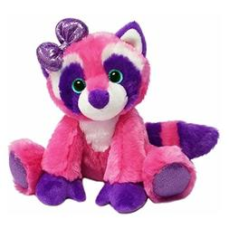 1 Piece Kids Girls 7 Inch Small Cute Pink Purple Raccoon Stu