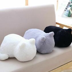Cute Plush Doll Toy Stuffed Animal Cat Soft Pillow Cushion B