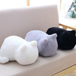 Cute Plush Doll Toy Stuffed Animal Cat Soft Pillow Cushion B