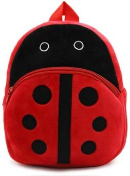 New Cute Plush Ladybug Mini Backpack for young Students Ages